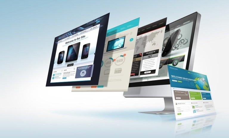 Website-homepage